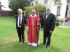 The Bishop with the church wardens