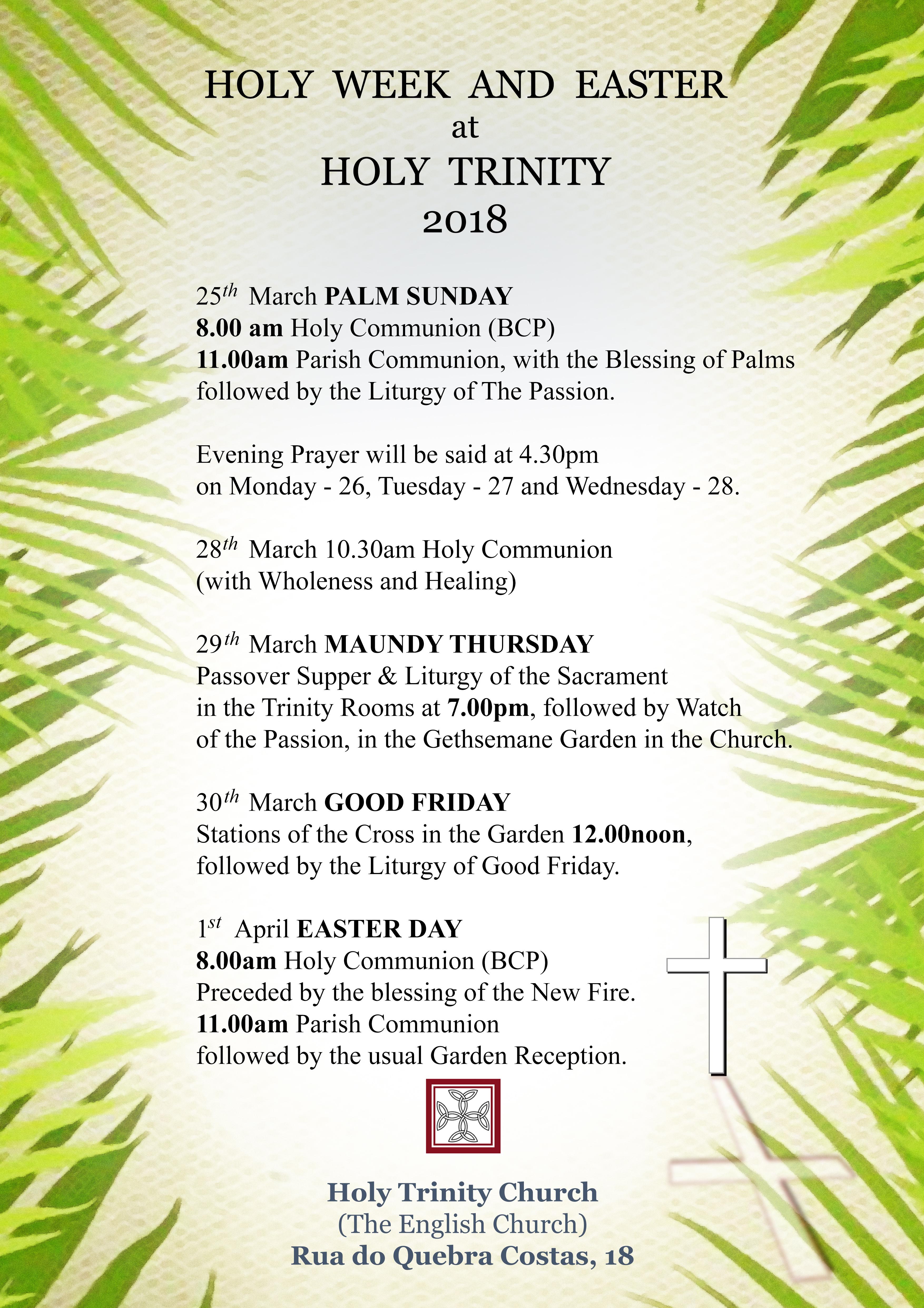 Easter Program - 2018